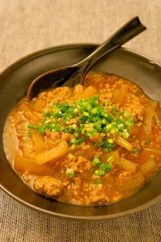 冬瓜とひき肉の中華風トロトロうま煮♪