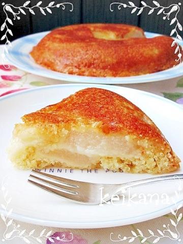 炊飯器で超簡単☆梨のタルトタタン♡
