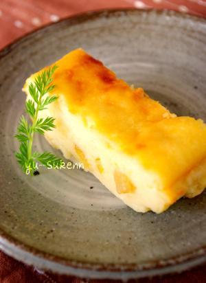 超簡単ヨーグルトケーキ☆ベイクドチーズケーキ風