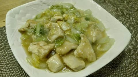 白菜と鳥むね肉のとろとろ煮♥