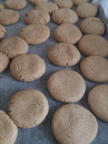卵・バターなし混ぜるだけの簡単クッキー?サブレ?