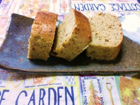 簡単糖質制限★大豆粉のパウンドケーキ