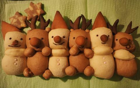 ちぎりパン de クリスマス☆