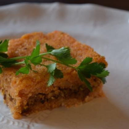 トルコ料理★シニ・キョフテ(トレイのキョフテ)