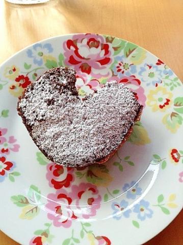 シリコンスチーマーで、超簡単チョコレートケーキ