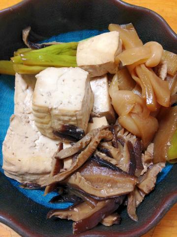 お腹に優しい◎豆腐とかんぴょうの煮物
