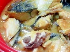 簡単☆シリコンスチーマーでサバの塩麹+味噌煮