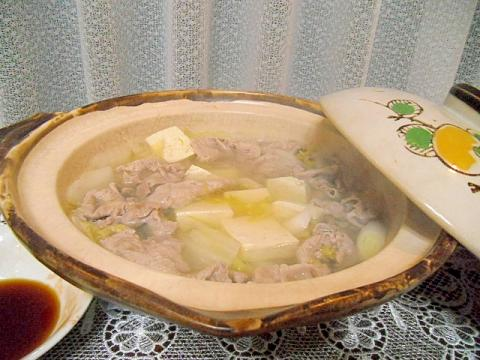 豚しゃぶ鍋