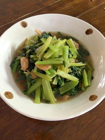小松菜のおばんざい