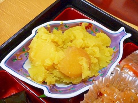 さつま芋で簡単☆栗きんとん