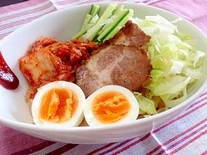 Korean☆冷たくてピリ辛のビビン麺