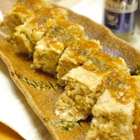 レンジで時短ミートローフ★豆腐でふんわり