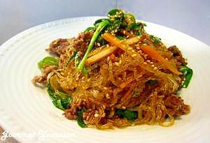 野菜たっぷり簡単♪韓国チャプチェ