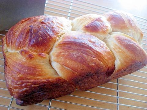 自家製酵母でデニッシュ食パン♪