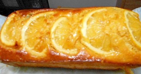 バター不使用 ヘルシーレモンケーキ