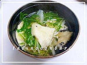 青森の郷土料理 八戸せんべい汁
